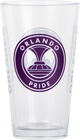 Orlando Pride Glass Pint