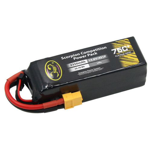 Scorpion Power 2350mAh 75C 14.8V 4S with XT60