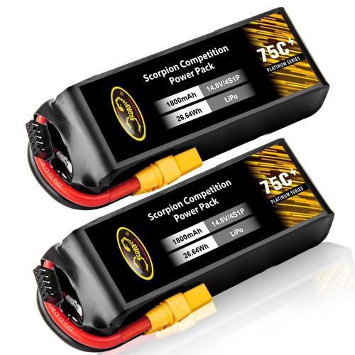 1800mAh lipo battery