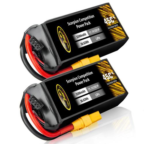 3300mAh lipo battery