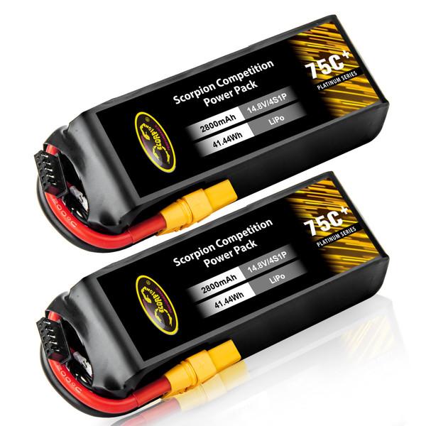 2800mAh 4s lipo battery