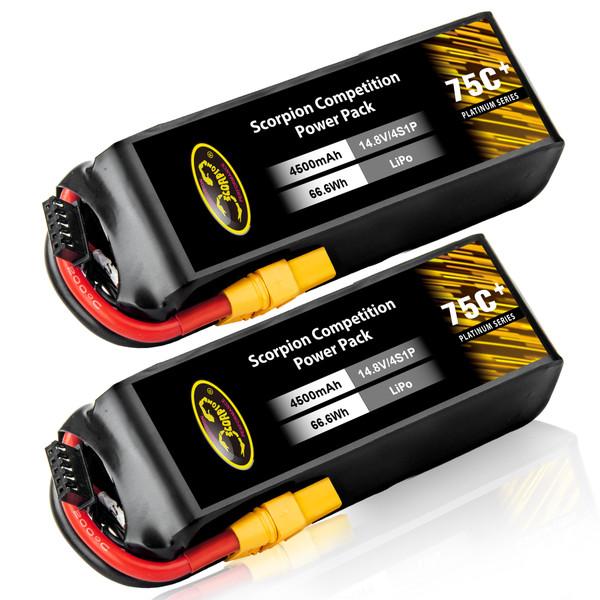 4500mAh lipo battery