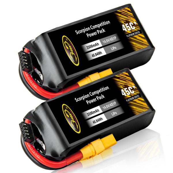 3300mAh 4S Lipo battery