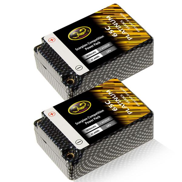 2S Hard Case Lipo Battery