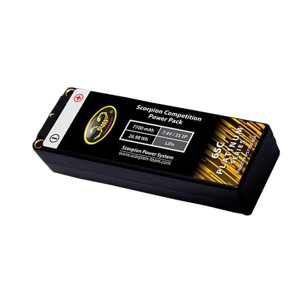 Scorpion 7700mAh 2S 65C LiPo Battery