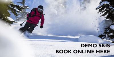 Demo Skis - Try It Before You Buy It - Book Online