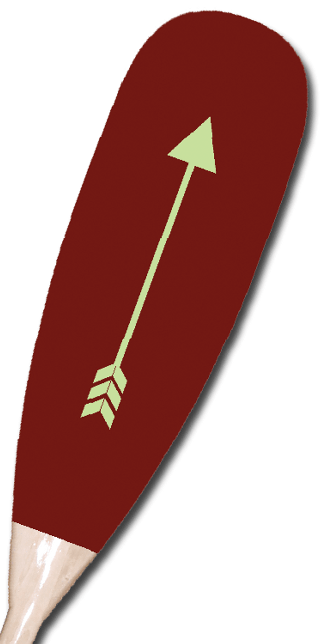 Red Arrow Paddle