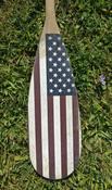 Vintage American Flag Paddle