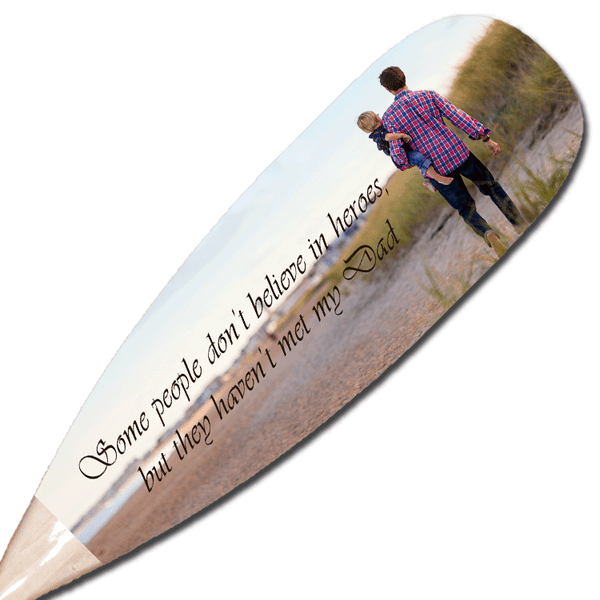 Custom Decorative Paddle
