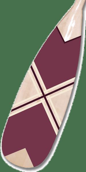Plum Geometric Paddle