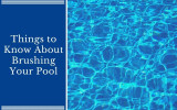 Things to Know About Brushing Your Pool
