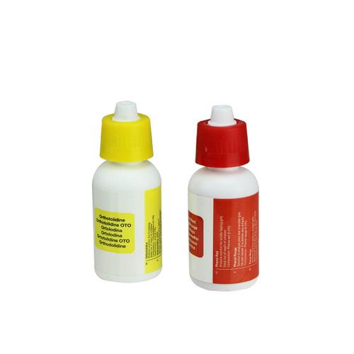 Set of 2 Test Kit Refill Bottles for Swimming Pools