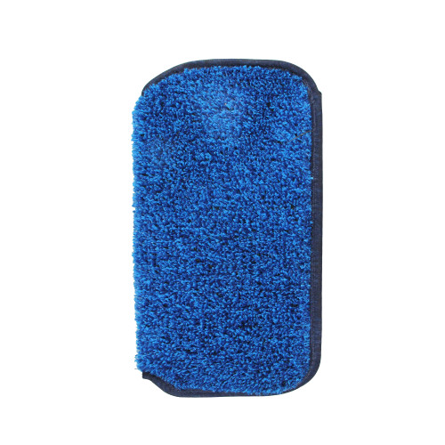 """11.5"""" Blue Mytee Foot Slip-On Pool and Spa Scrubber"""