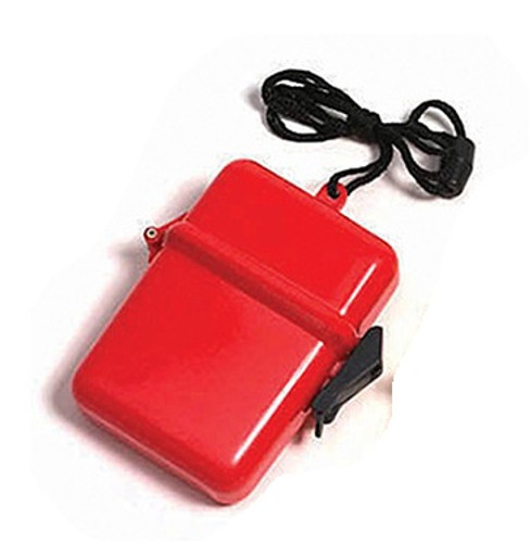 """4.5"""" Red Waterproof Swimming Pool Beach Accessory Case"""