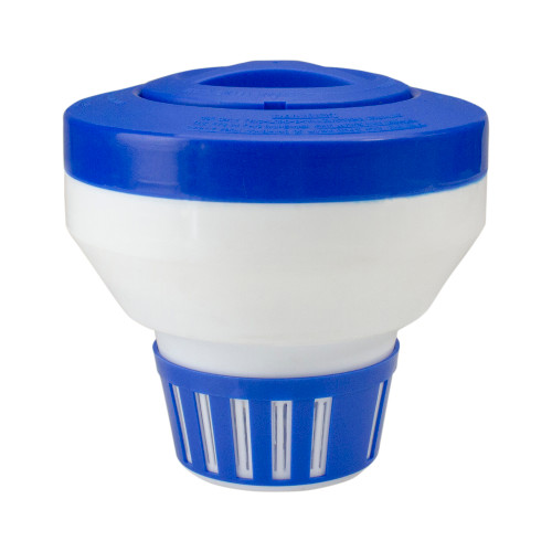 "7.5"" Deluxe Floating Swimming Pool Chlorine Dispenser"