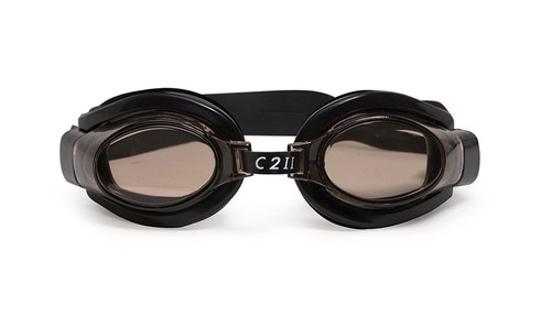 """6.5"""" Black C2 II Water Sport Goggles Swimming Pool Accessory for Juniors, Teens and Adults"""