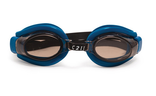 """6.5"""" Blue C2 II Water Sport Goggles Swimming Pool Accessory for Juniors, Teens and Adults"""