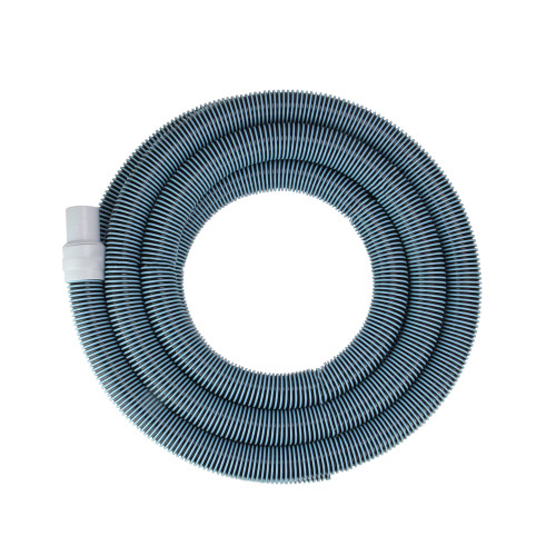 """Blue Spiral Wound Vacuum Swimming Pool Hose with Swivel Cuff 18' x 1.25"""""""