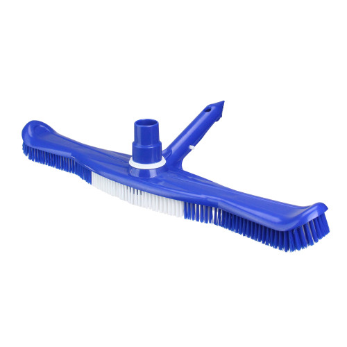 "20"" Blue Swimming Pool Vacuum Brush Head with Swivel"