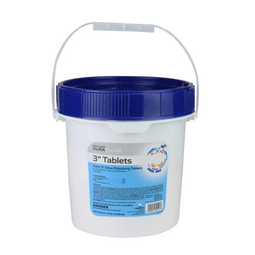 "3"" Haviland Durachlor Swimming Pool Chlorine Tablets 25 lbs"