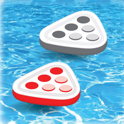 """17.75"""" Inflatable Floating Swimming Pool Pong Game Set"""
