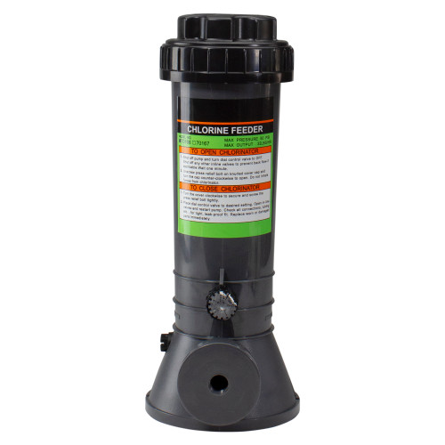 Automatic Off-Line Chlorinator Chemical Feeder, 9lb Capacity