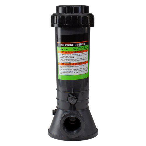 Automatic In-Line Chlorinator Chemical Feeder, 9lb Capacity