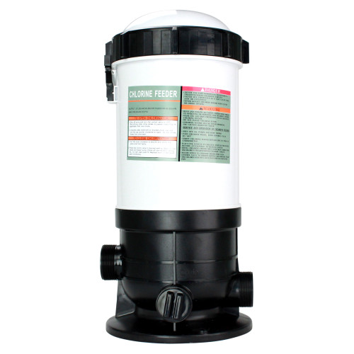 Automatic Off-Line Chlorinator Chemical Feeder, 37lb Capacity