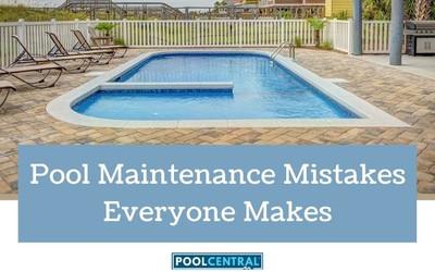 Pool Maintenance Mistakes Everyone Makes