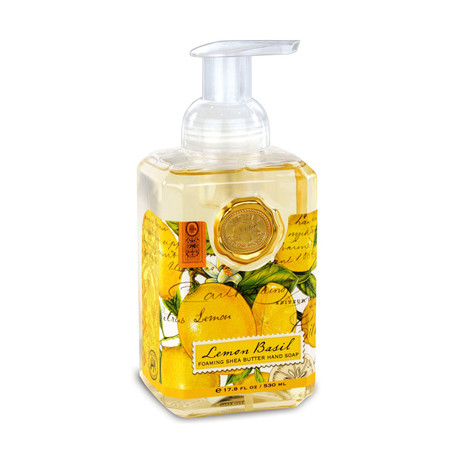Fragrance: Citrus notes of lemon and mandarin enhanced with green basil leaf.