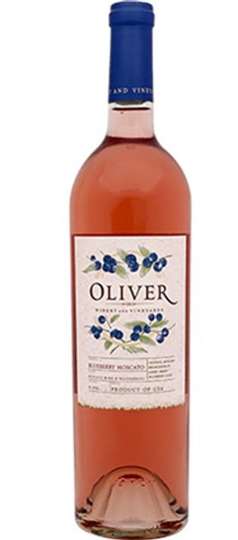 Oliver Winery Blueberry Moscato's light, low-alcohol style is a crowd-pleasing change of pace that appeals to both sweet and dry palates.