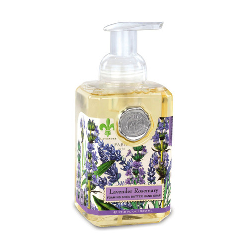 Fragrance: The unmistakable scent of lavender with rosemary and a hint of eucalyptus.
