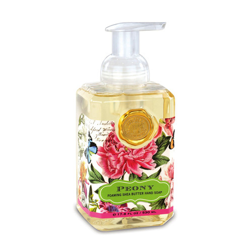 Fragrance: Floral notes of peony and lily of the valley with whisps of apple, amber and peach.