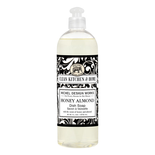 Could the lovely, popular scent of our Honey Almond dish soap be more delicious?