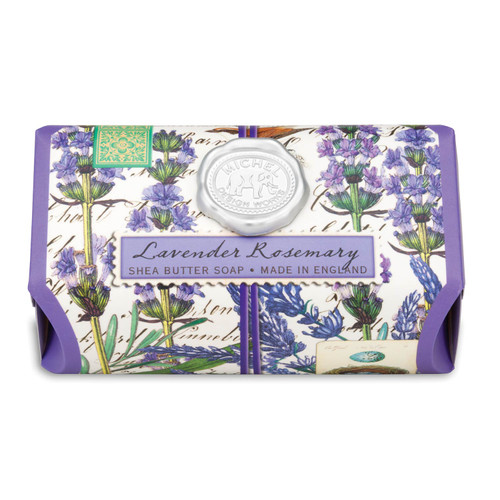 Lavender Rosemary features the distinct scents of lavender and rosemary with a hint of eucalyptus.