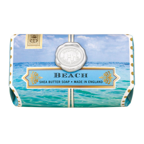 Beach brings compelling marine notes with hints of bergamot, amber, and watermelon.