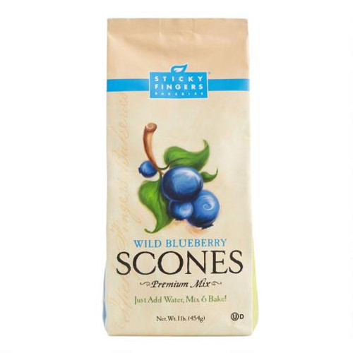 Wild Blueberry Scones : Bursting with whole, plump, wild blueberries from Maine. Kids love 'em.