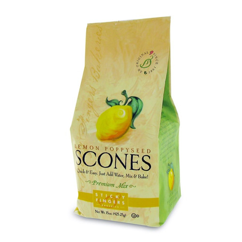 Lemon Poppyseed Scone Mix : Lots of sunkissed lemon, heaps of poppyseeds, loads of flavor, texture and crunch.