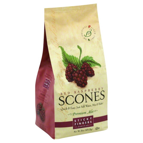 Red Raspberry Scones : Delicate raspberries pack an unexpected punch in this flavorful scone mix. Divine with cream cheese.