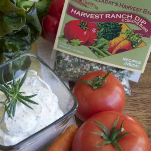Halladay's has a delicious new version of the classic ranch dip and dressing. Made with no salt, sugar or artificial ingredients has several options to make it with healthy ingredients it will be a sure hit to use as a dip or a great topping for veggies or your favorite salad.