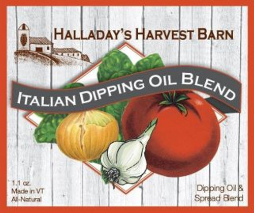 Halladay's Dipping Oil Blends can be added to olive oil to create a delicious dip for crusty bread. Try it as a rub with olive oil on chicken, beef or lamb for a great roast. Add to butter for a quick garlic spread or add to oil and vinegar for an easy dressing. With these versatile mixes, the possibilities are endless!