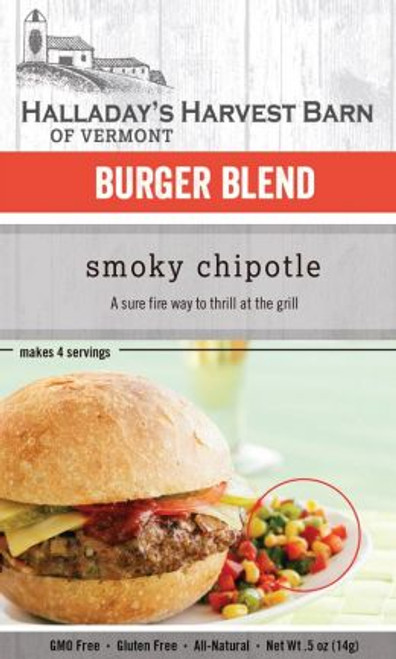 Kick up your burgers or meatloaf a notch with our Smoky Chipotle blend that gives you just the right amount of heat.