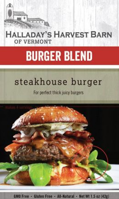 Add a ton of flavor with this great mix perfect for thick juicy burgers.