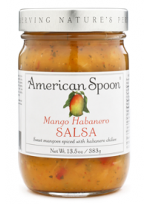 This hot, sweet, fruity salsa of mangos, habanero chilies, pineapple, onions, and cilantro has a devoted following.