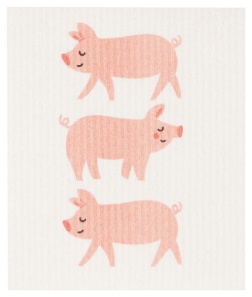 Swedish Dishcloth - Penny Pig