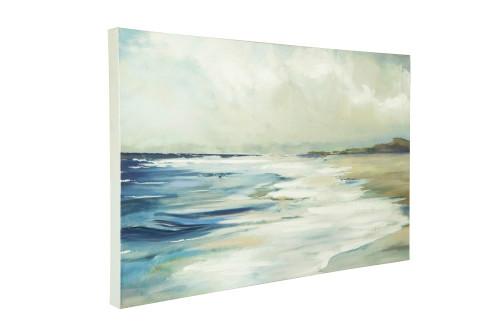 Canvas Watercolor Beach Scene