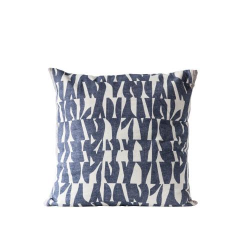 """Block Print 26"""" Pillow"""