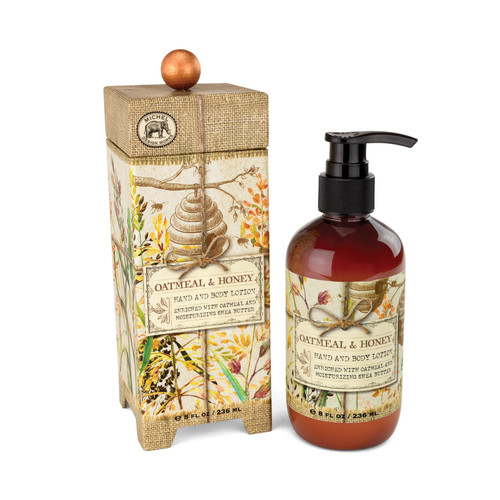 Oatmeal And Honey Hand & Body Lotion