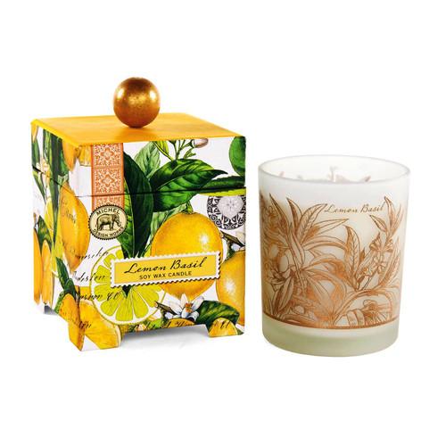 Lemon Basil 6.5 oz. Soy Wax Candle