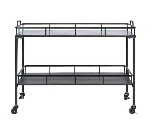 2-Tier Metal Cart